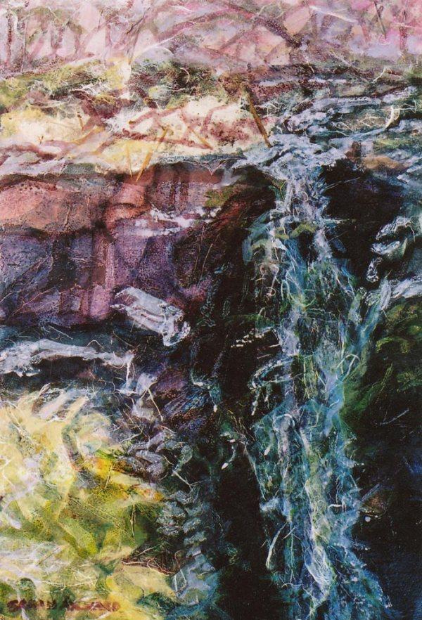 Sarah Aylward Falling Shapes II